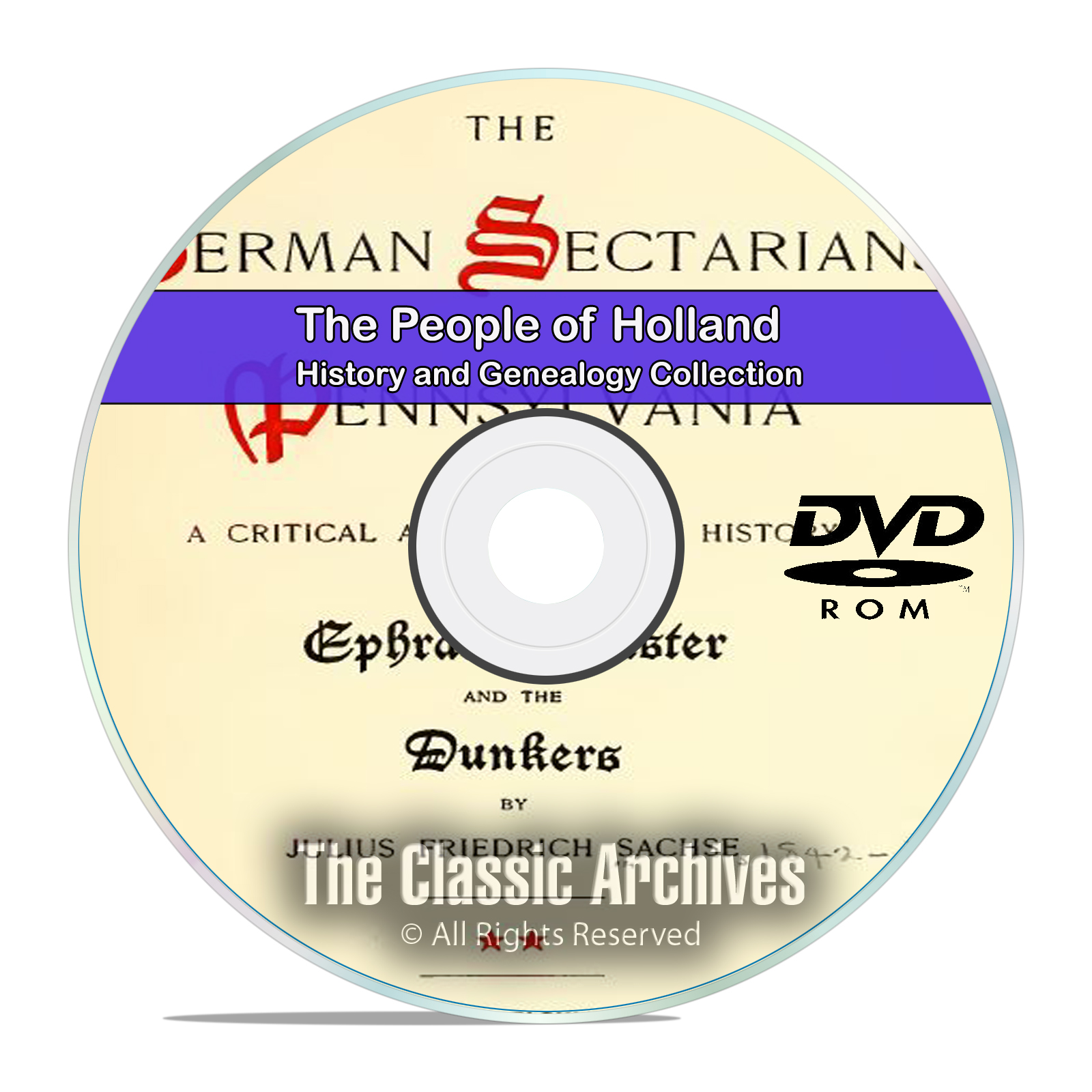 Holland People Cities Towns History and Genealogy 80 Books DVD