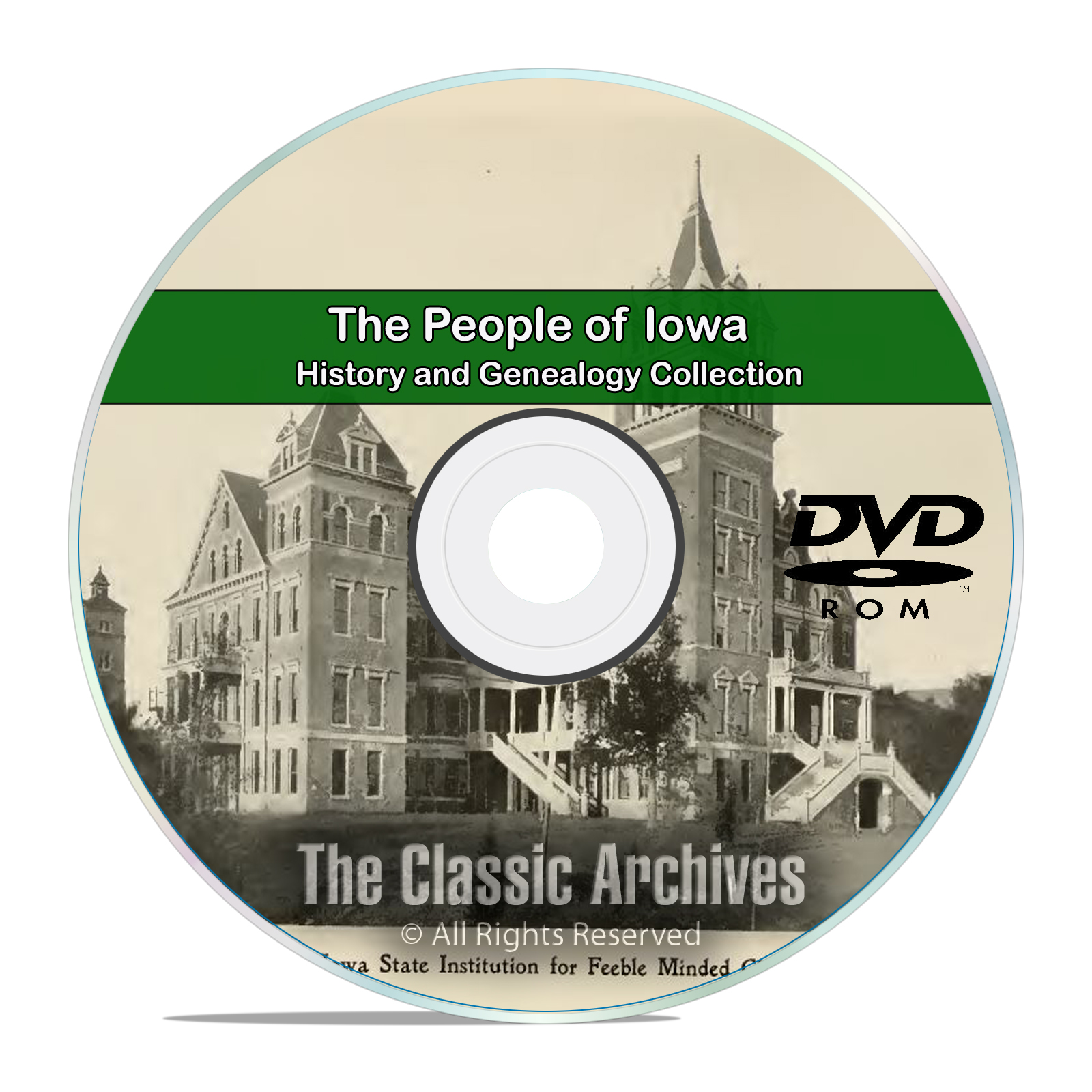Iowa IA People Cities and Towns History and Genealogy 148 Books DVD