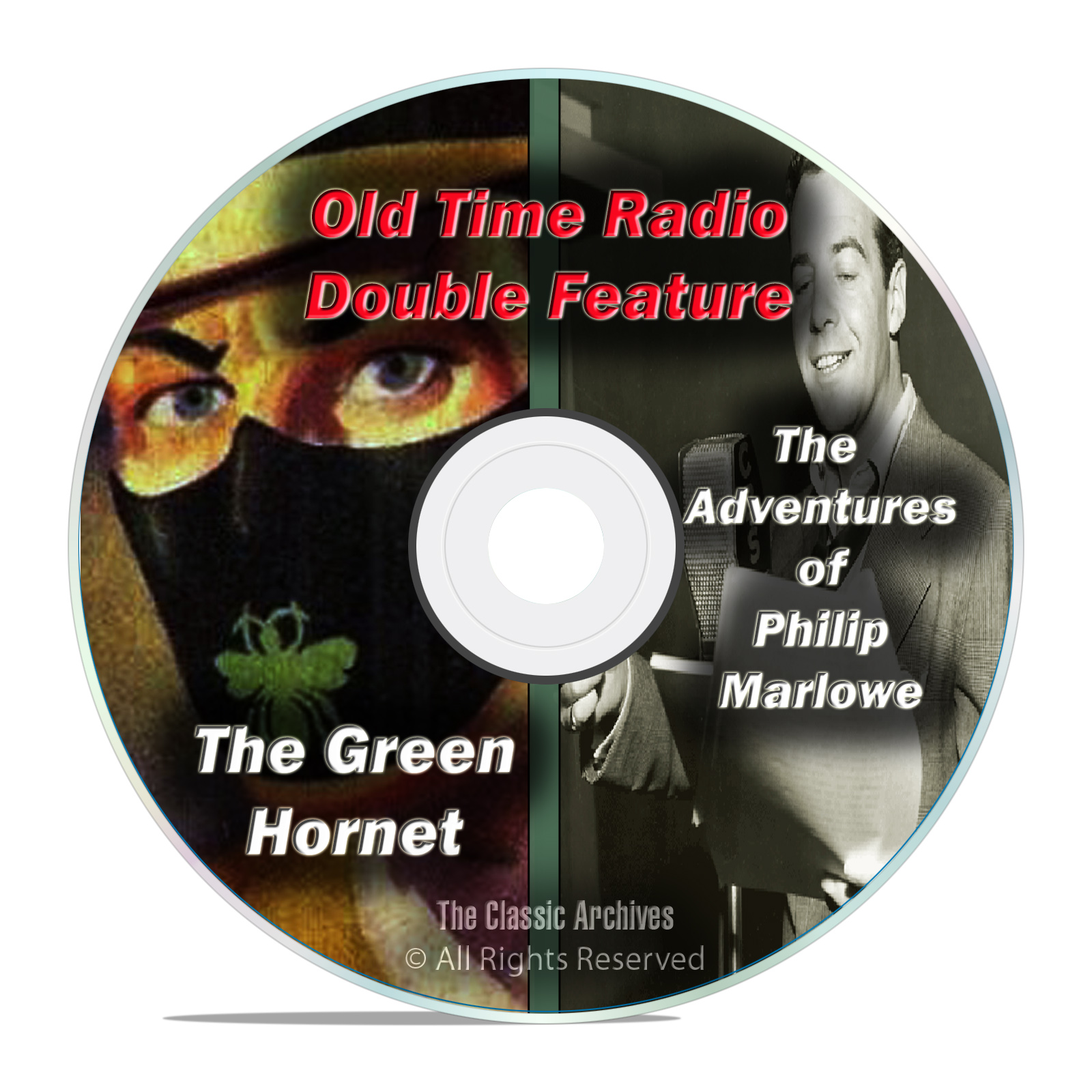 The Green Hornet & Philip Marlowe, 407 shows, FULL SET, Old Time Radio DVD