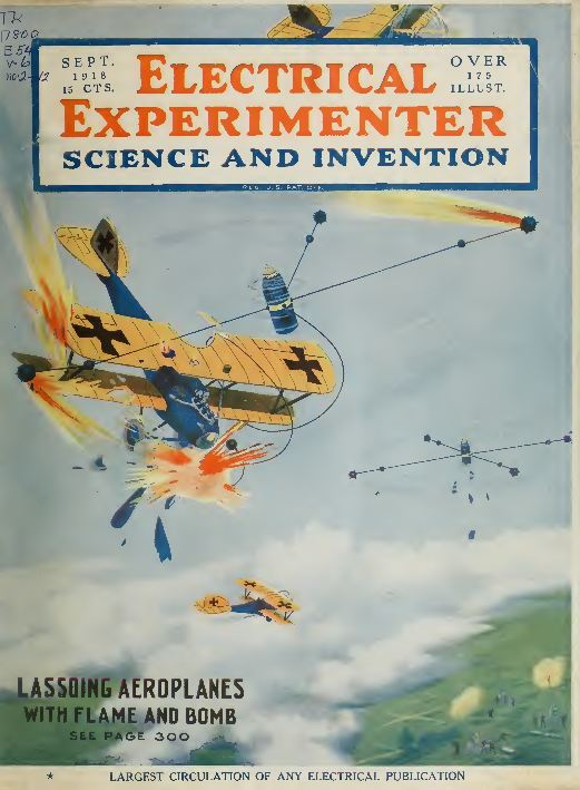 the electrical experimenter 81 back issues science invention