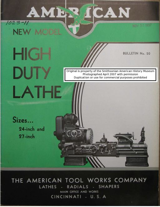lathe owners manuals instructions parts list atlas monarch rh ebay com Delta Planer 22 560 Manual De Walt Thickness Planer Manual