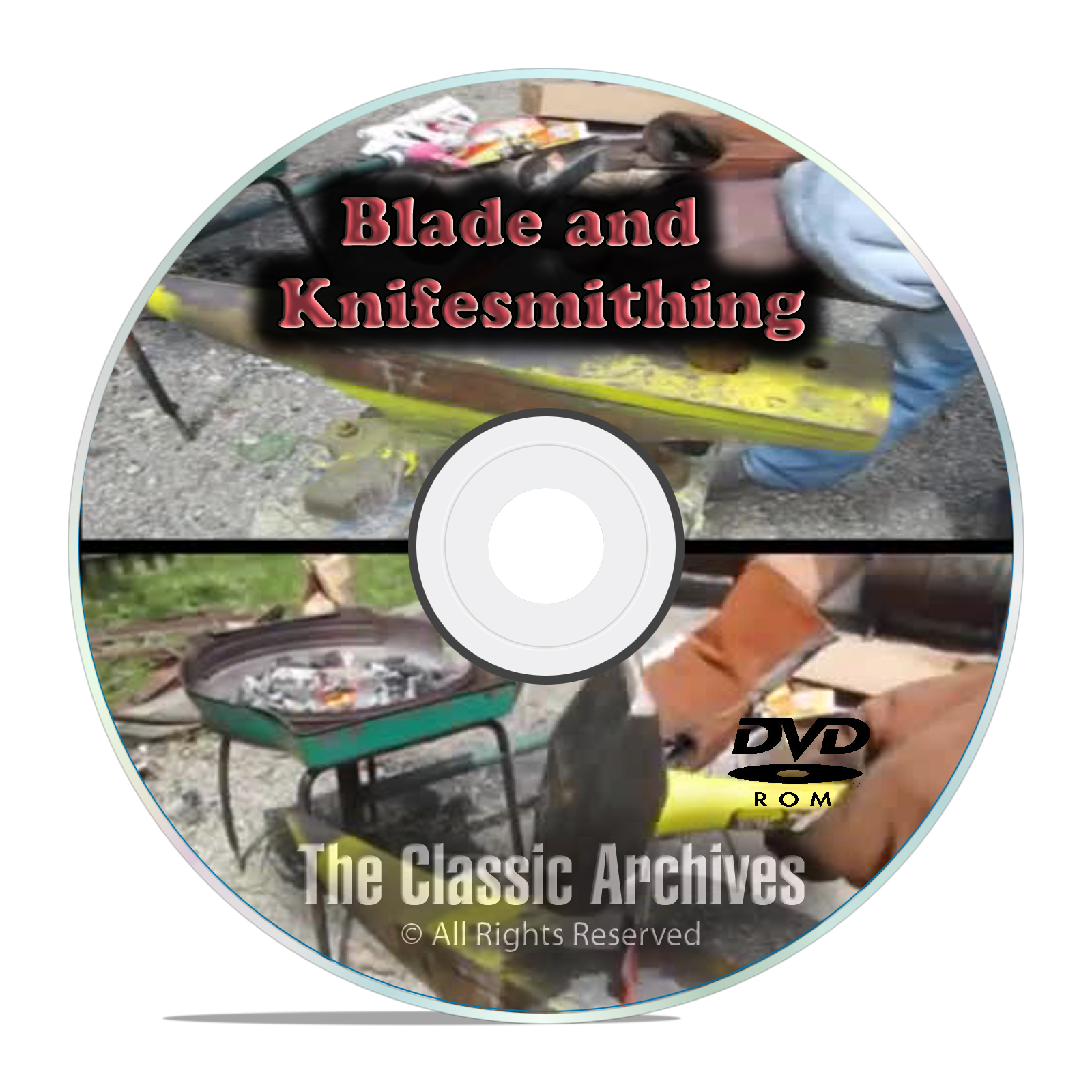 Bladesmithing Instructional Books, Learn Knife Making, 15 hrs Video MP4 DVD