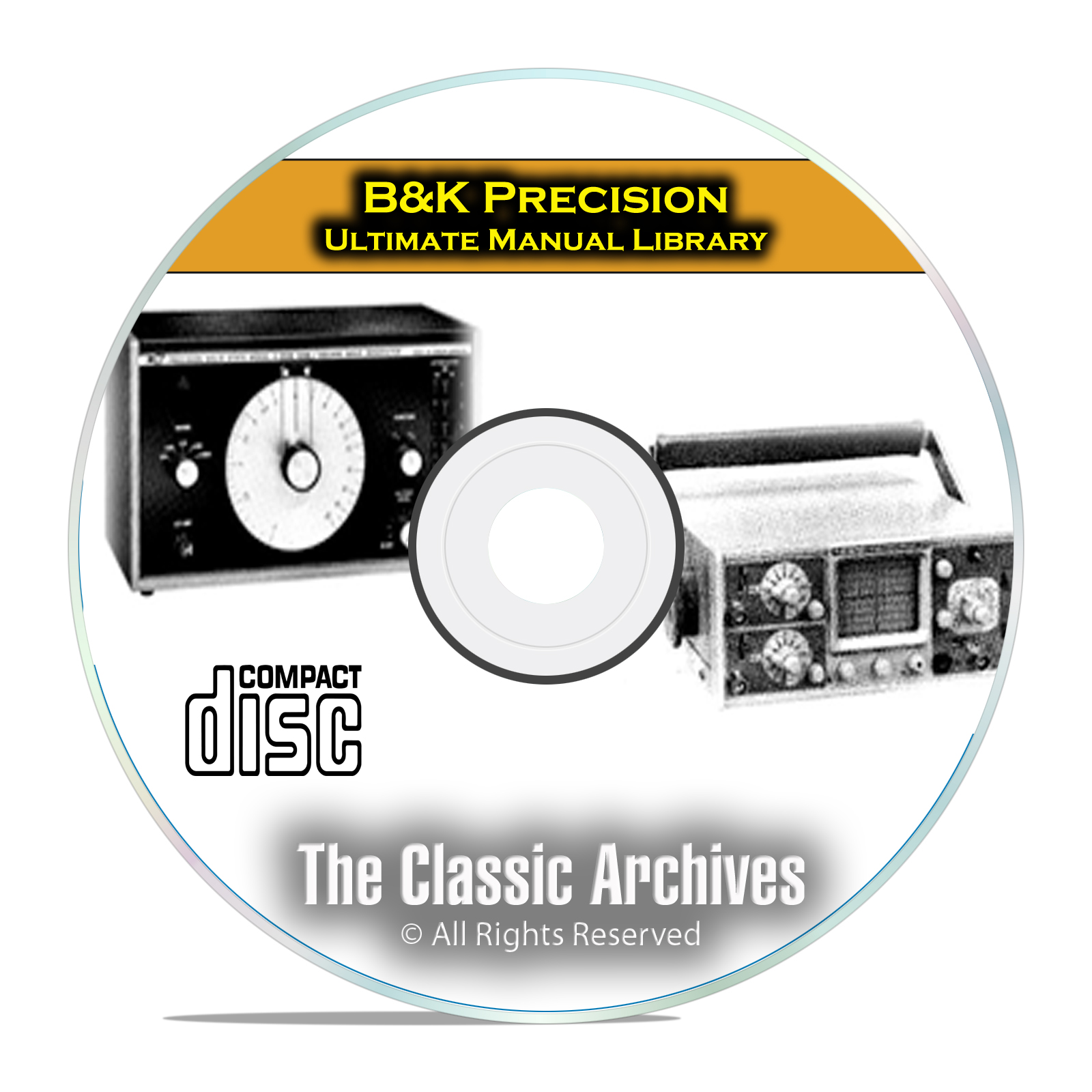 B&K Precision Instruction Manual Library, 411 Manuals on PDF CD