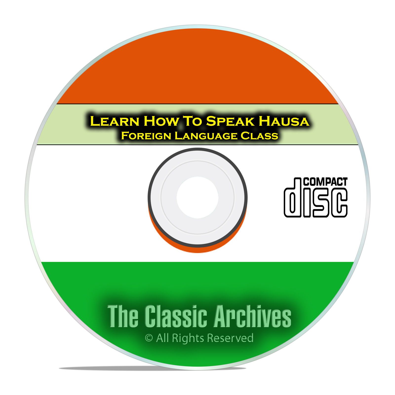 Learn How To Speak Hausa, Fast & Easy Foreign Language Training Course, CD