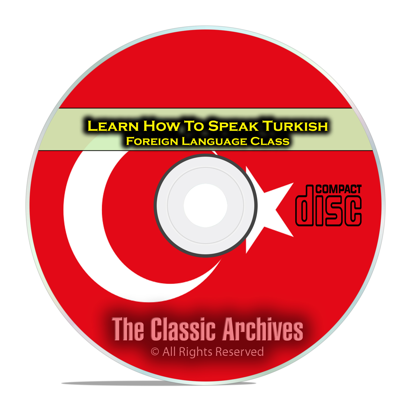 Learn How To Speak Turkish, Fast & Easy Foreign Language Training Course CD