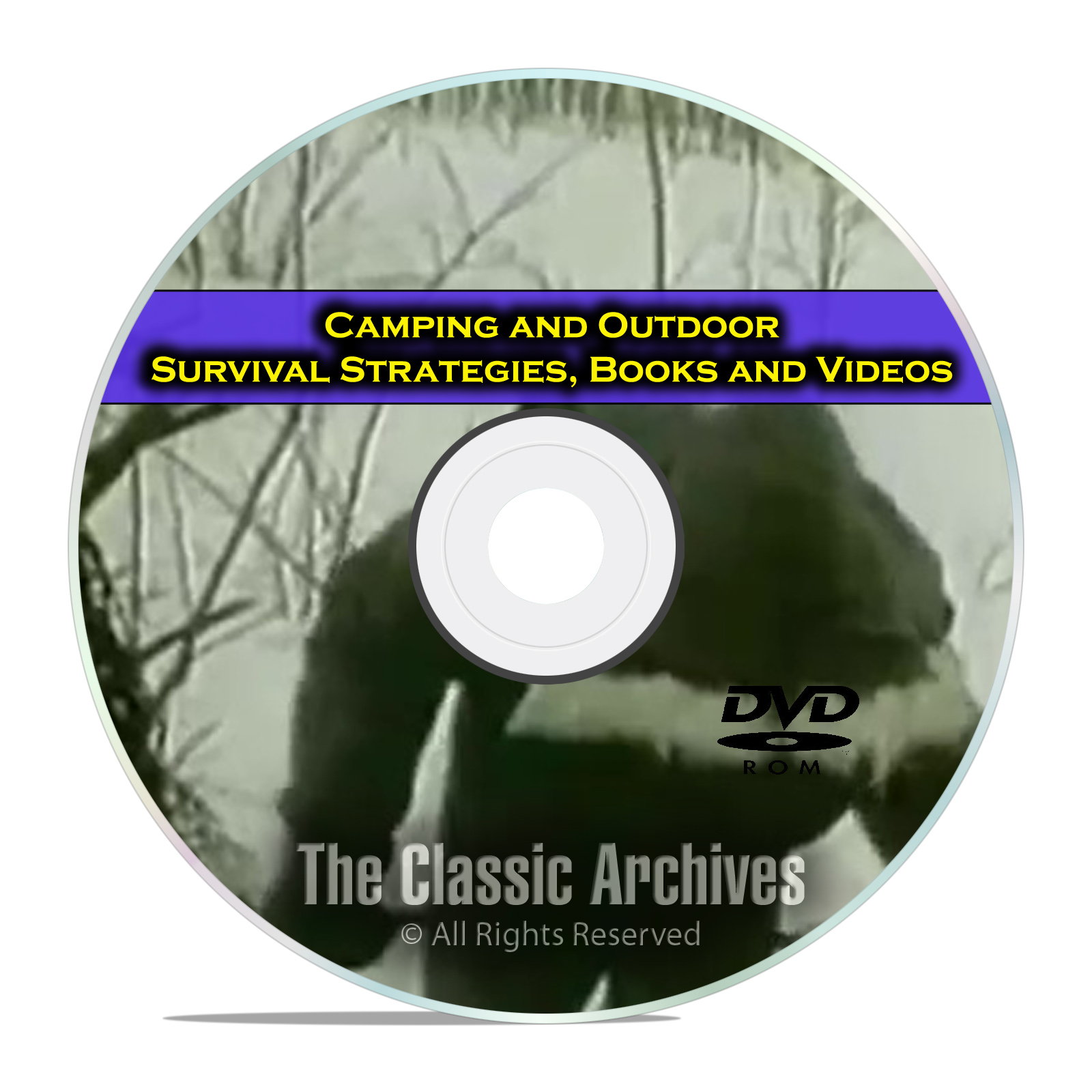Camping and Survival Guides, Wilderness, Cooking, 115 Books w/ video DVD