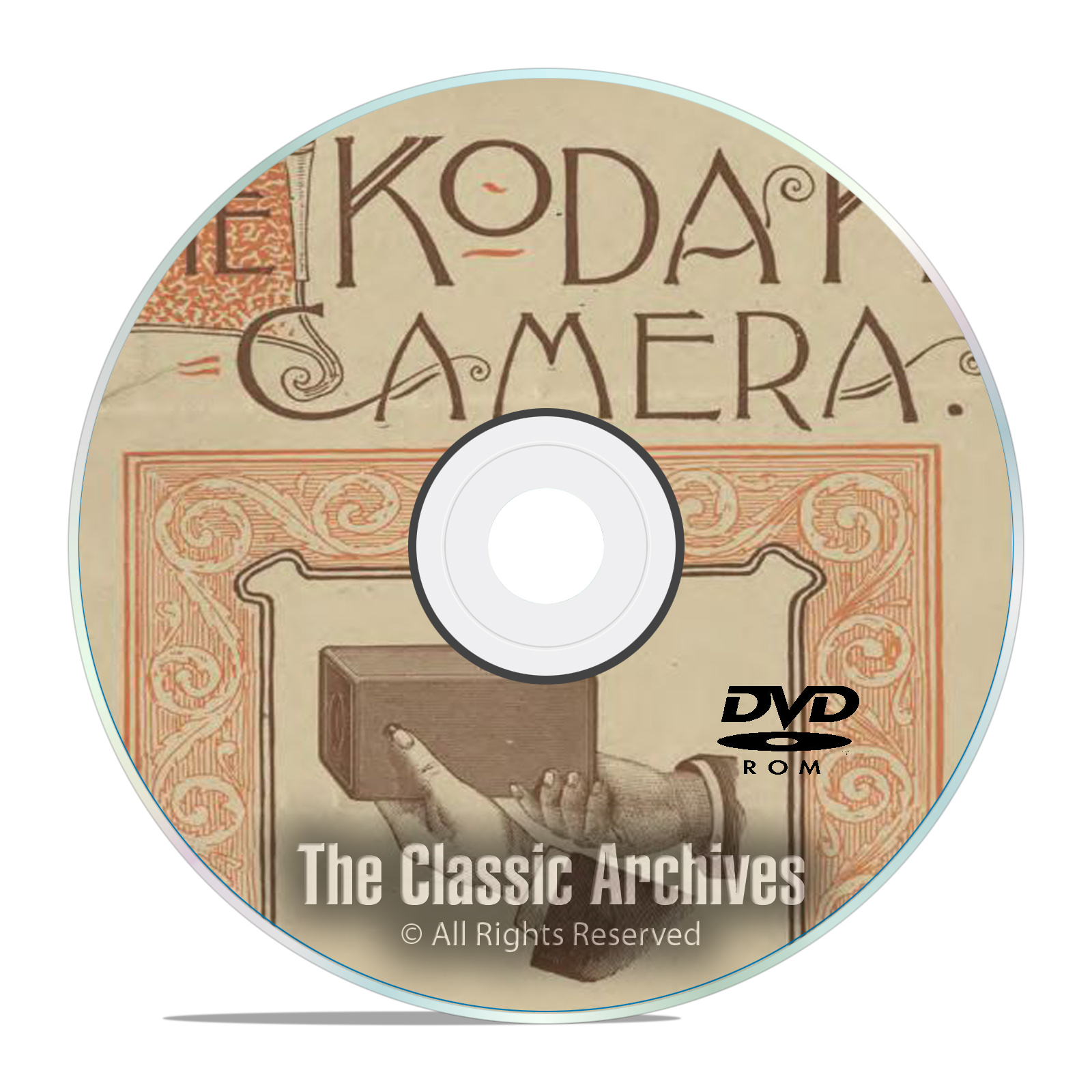 The History of Kodak Cameras, Antique Advertising, Manuals Catalogs PDF DVD