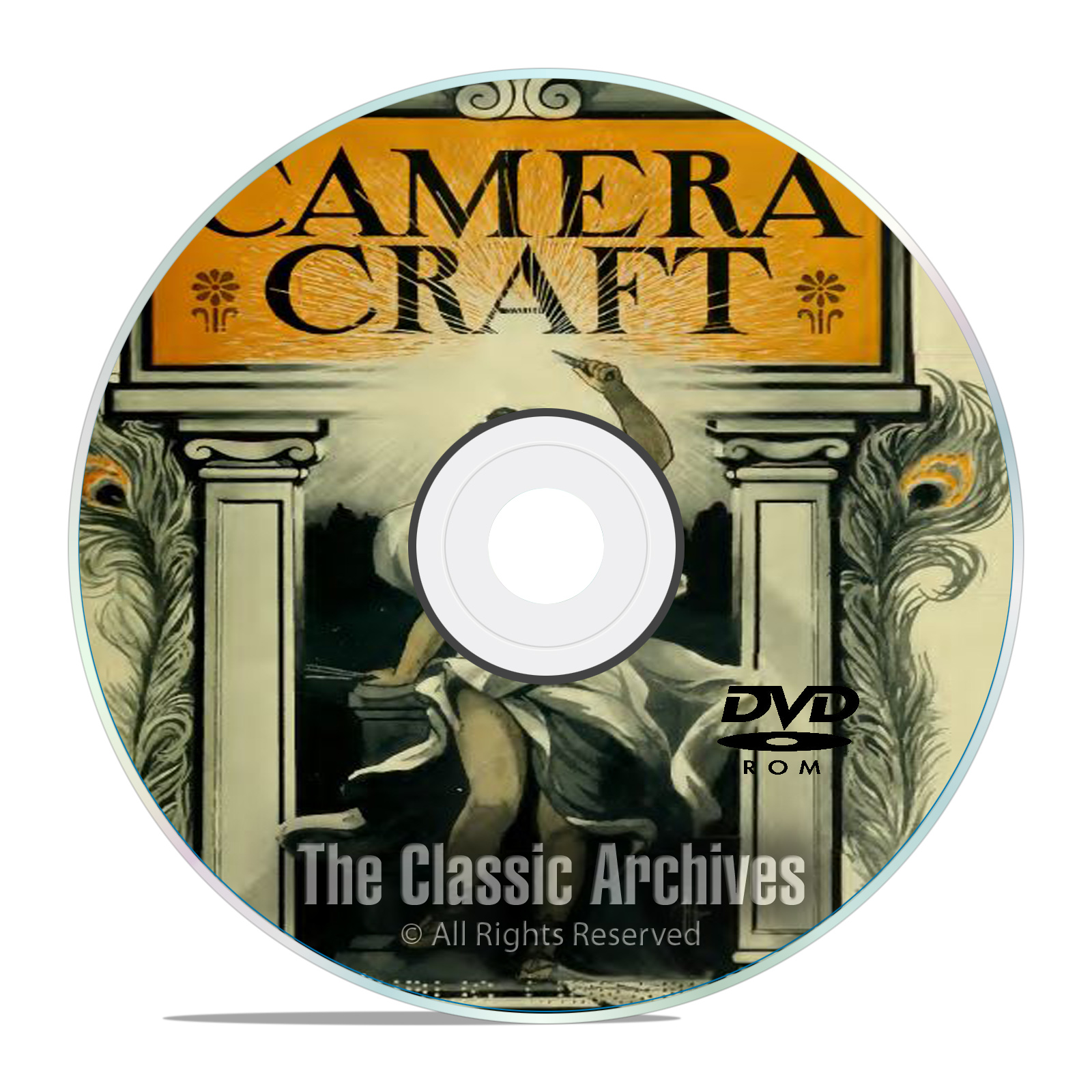 Camera Craft Magazine, 490 back issues, World Photography History, PDF DVD