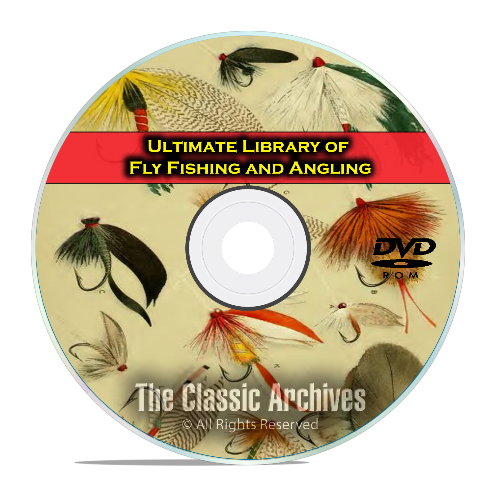 300 Books, Fly Fishing and Angling Library, Dry, Wet, Rod Making, PDF DVD