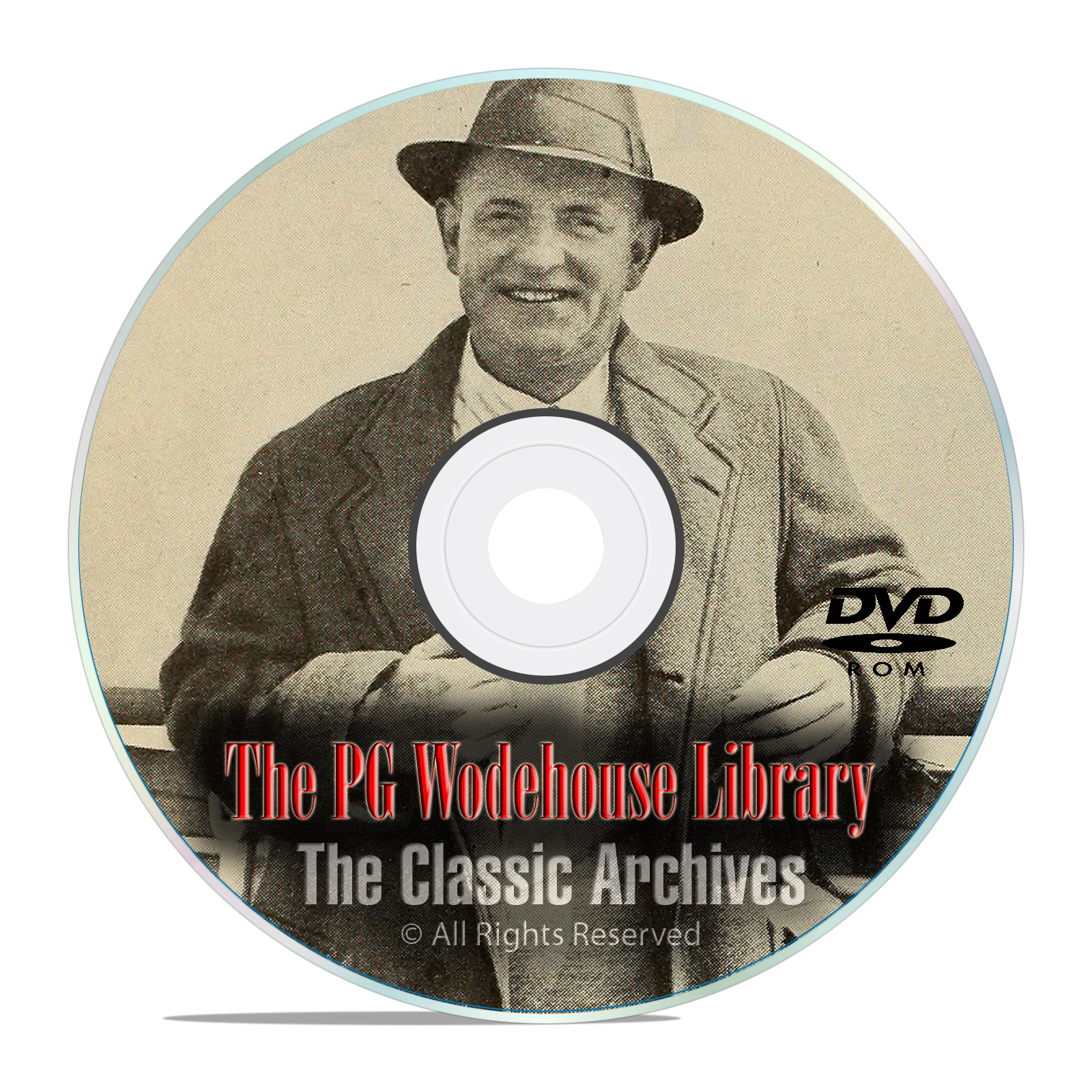 100 Classic PG Wodehouse AudioBooks MP3 Collection, Jeeves Full Library DVD