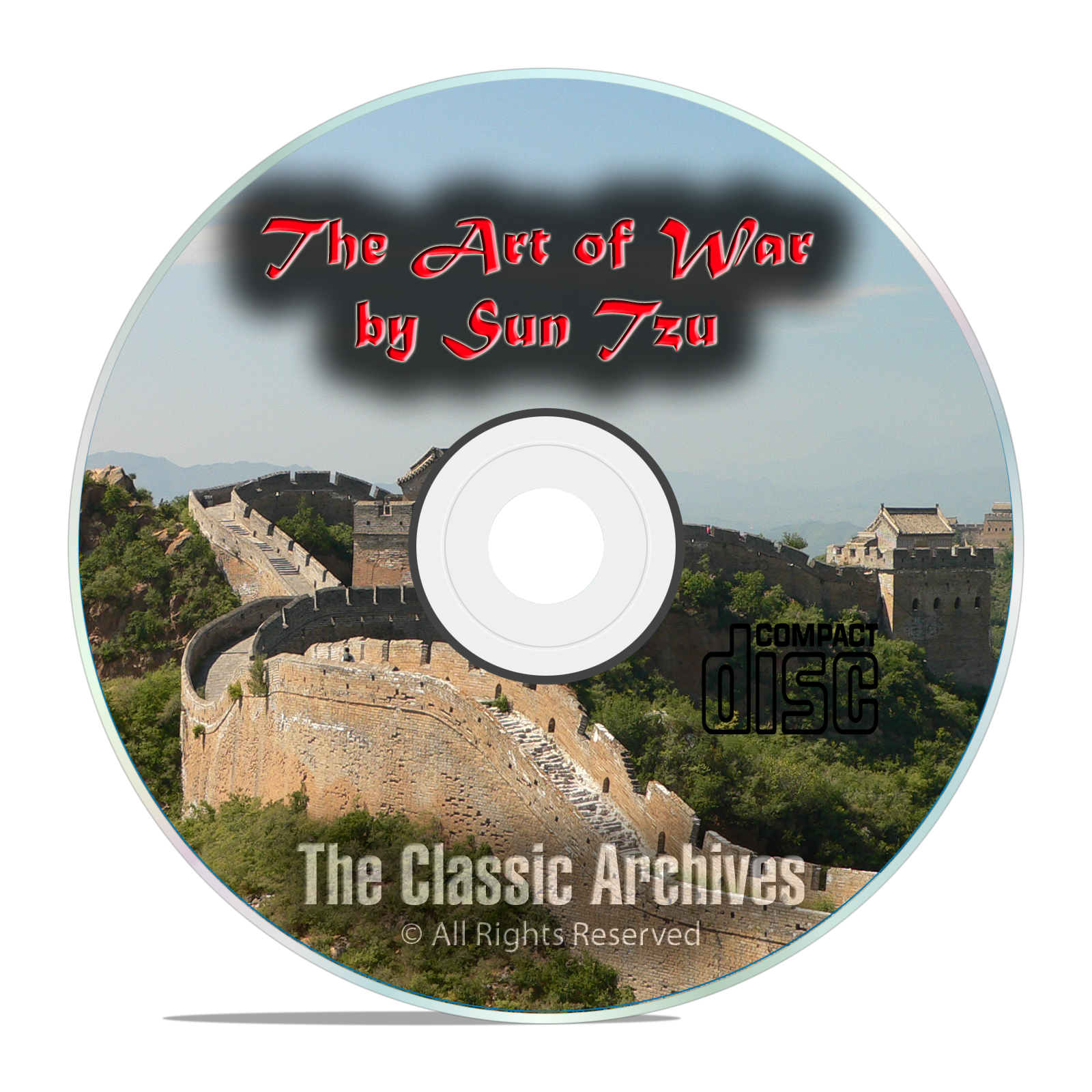 The Art of War by Sun Tzu, Classic Unabridged Audiobook CD