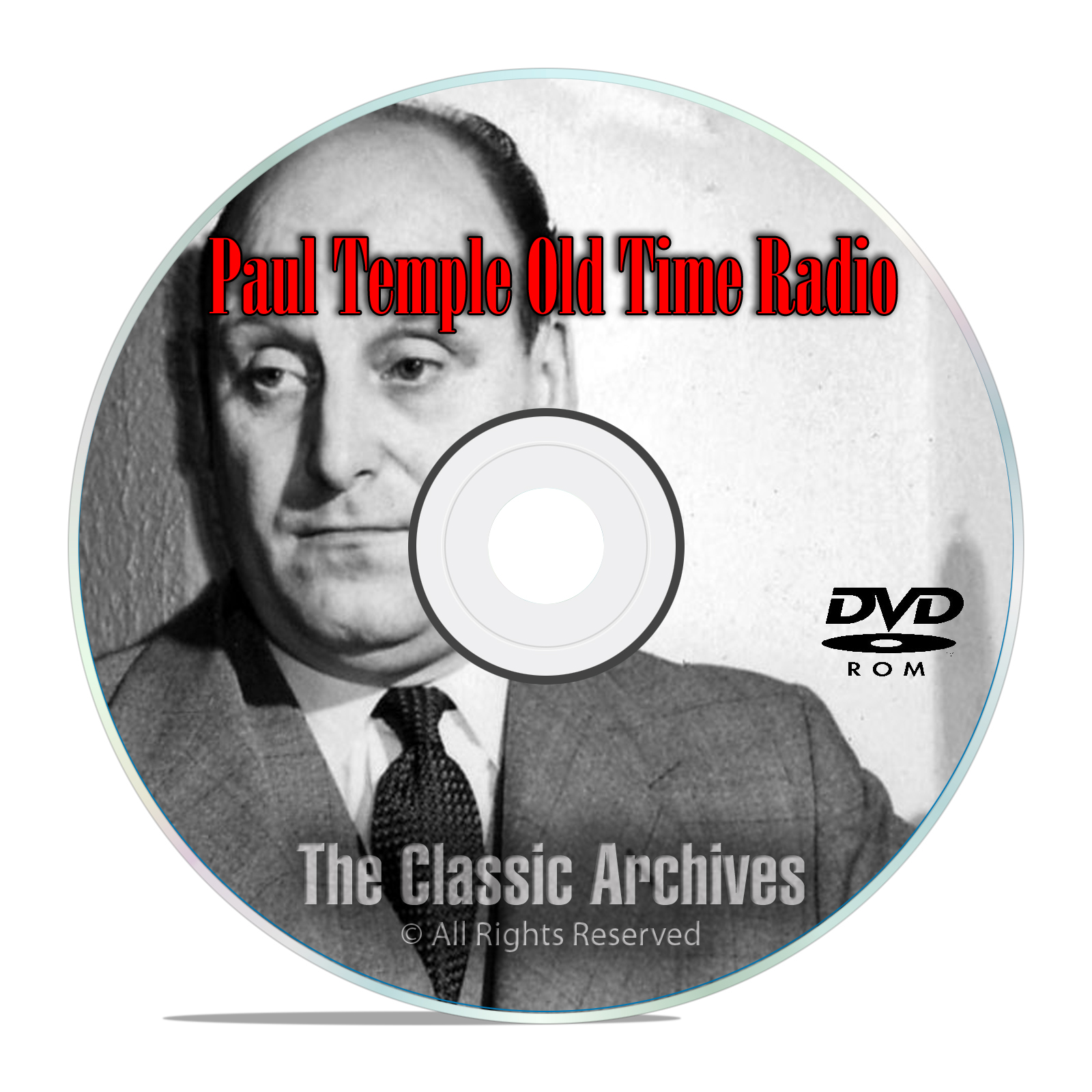Paul Temple OTR Old Time Radio, 125 Episodes, 16 Classic Series, on MP3 DVD