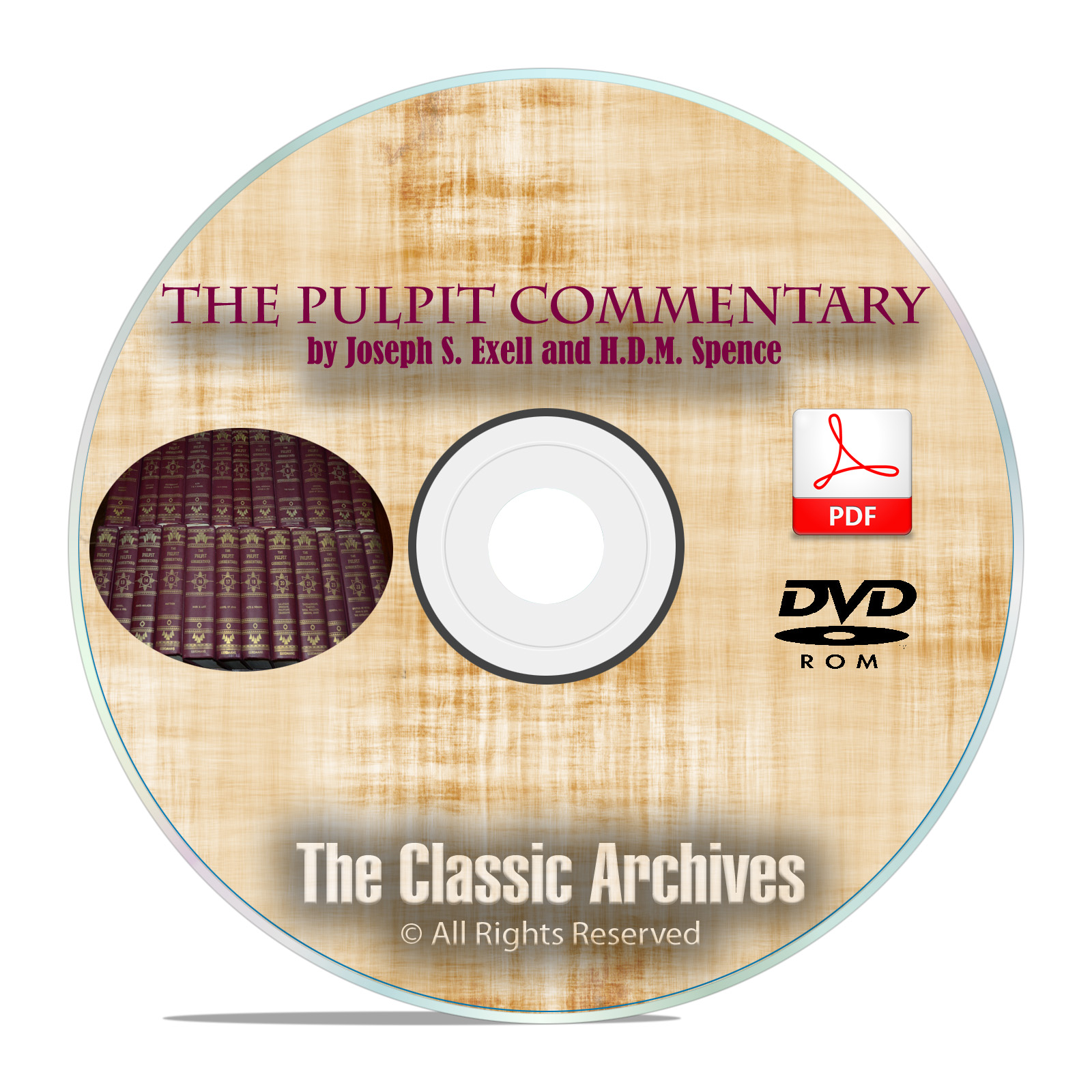 The Pulpit Commentary, Complete Full 23 Volume Set Digitized on DVD-ROM