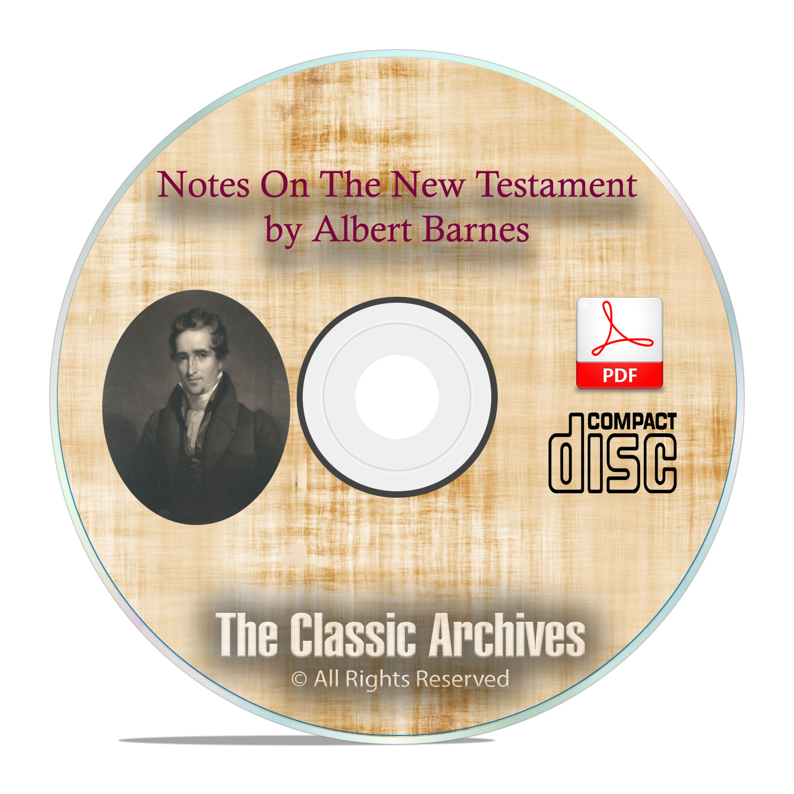 Albert Barnes, Notes on the New Testament, Bible Study Commentary Scripture