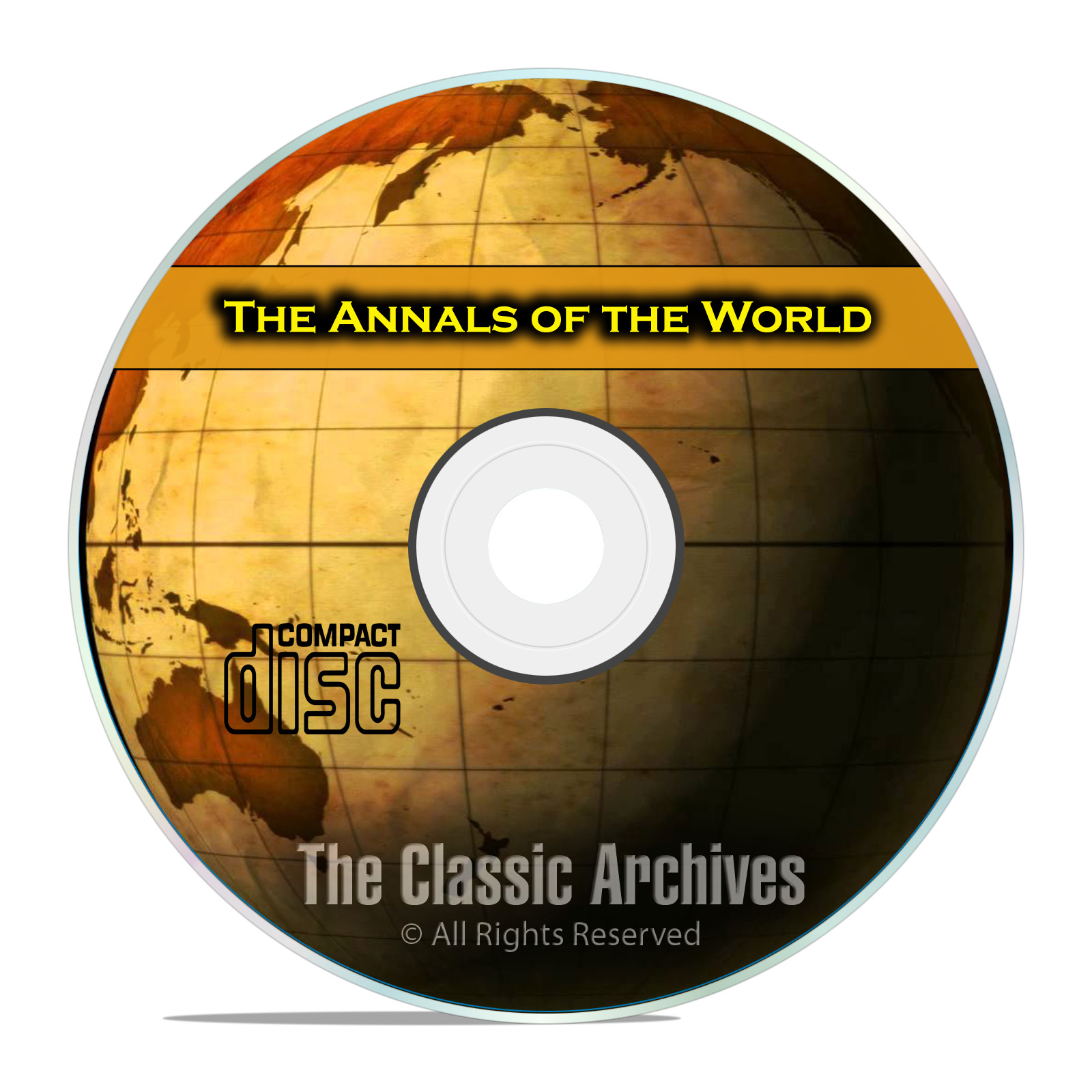 Annals of the World, by James Ussher, Ancient World History, Bible CD