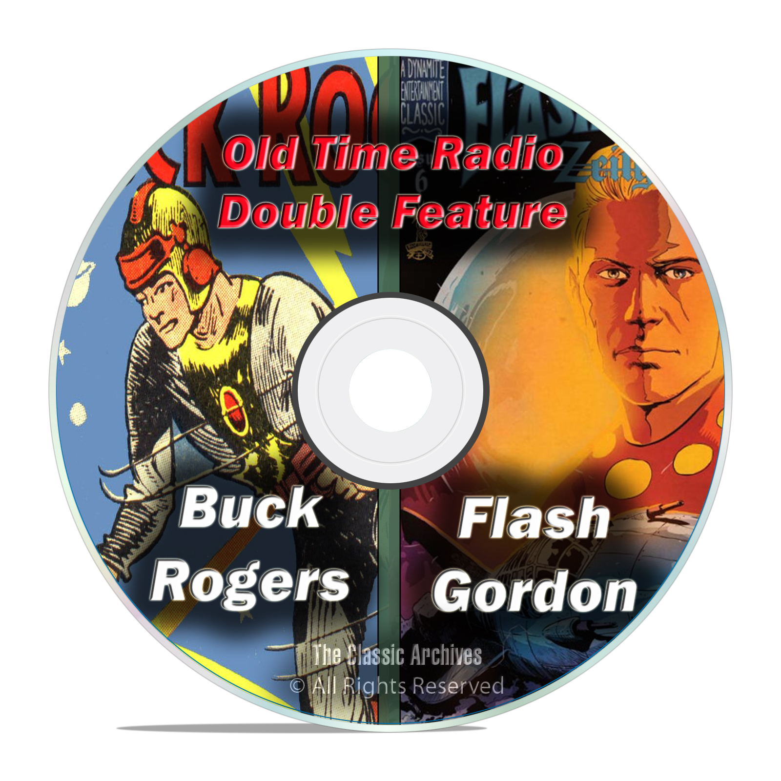 Buck Rogers, Flash Gordon, The Avenger, 215 Old Time Radio Shows MP3 DVD