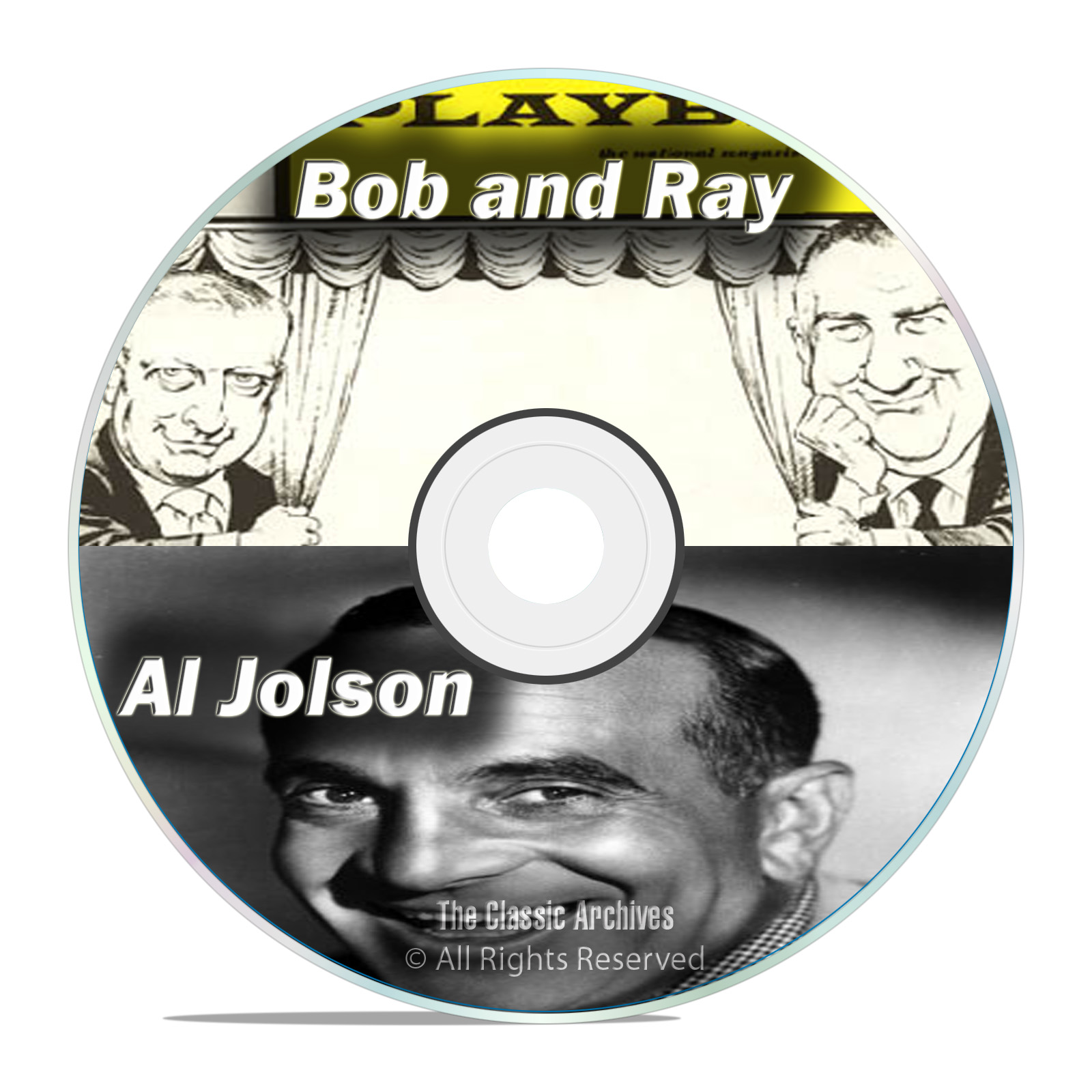 Bob and Ray Show, Al Jolson, All Known 1,207 Old Time Radio Shows MP3 DVD