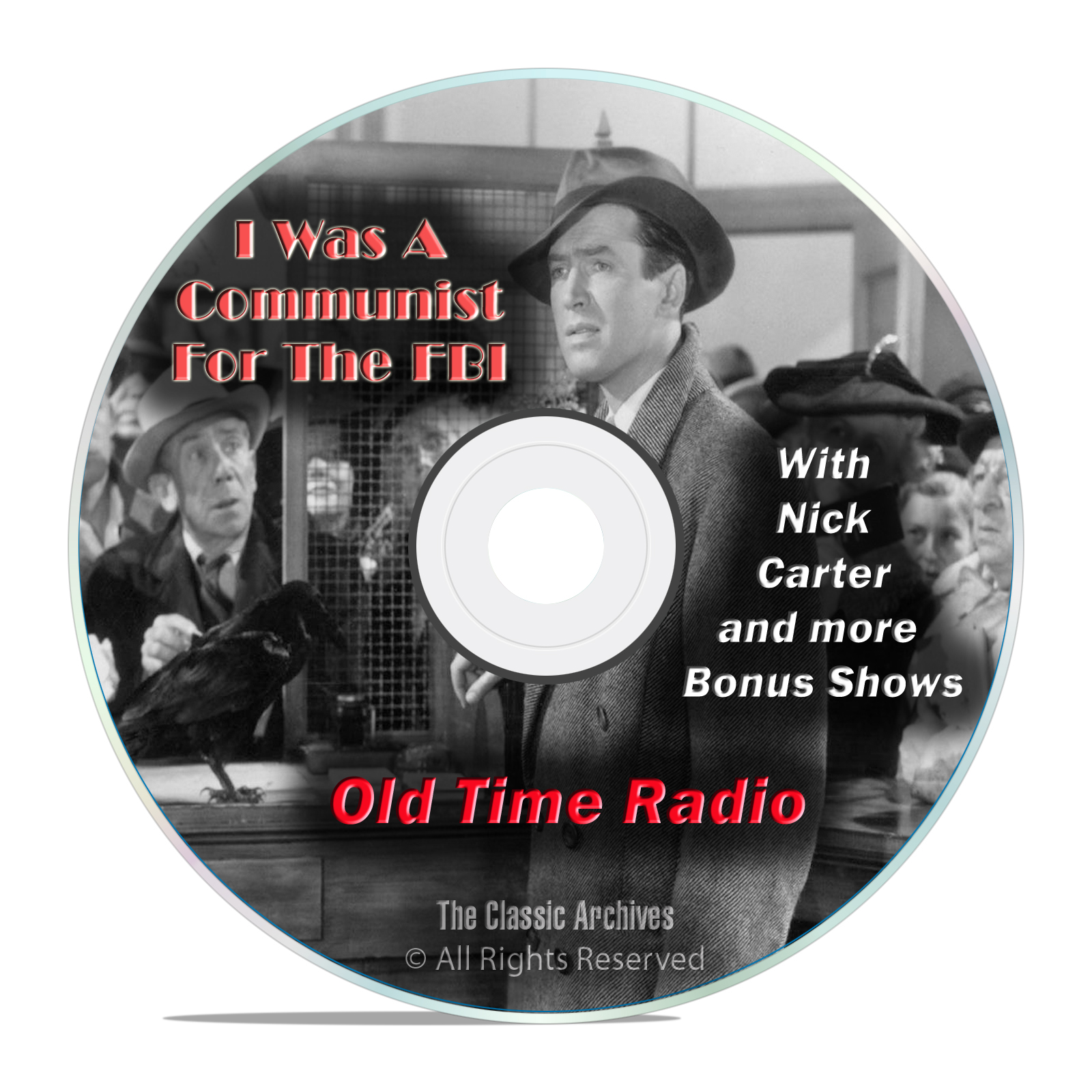 I Was A Communist For The FBI, 860 Old Time Radio Crime Shows, OTR, DVD - Click Image to Close