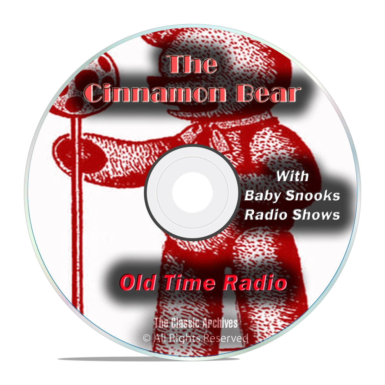 The Cinnamon Bear, 1,151 Old Time Radio Fiction Shows, OTR mp3 DVD