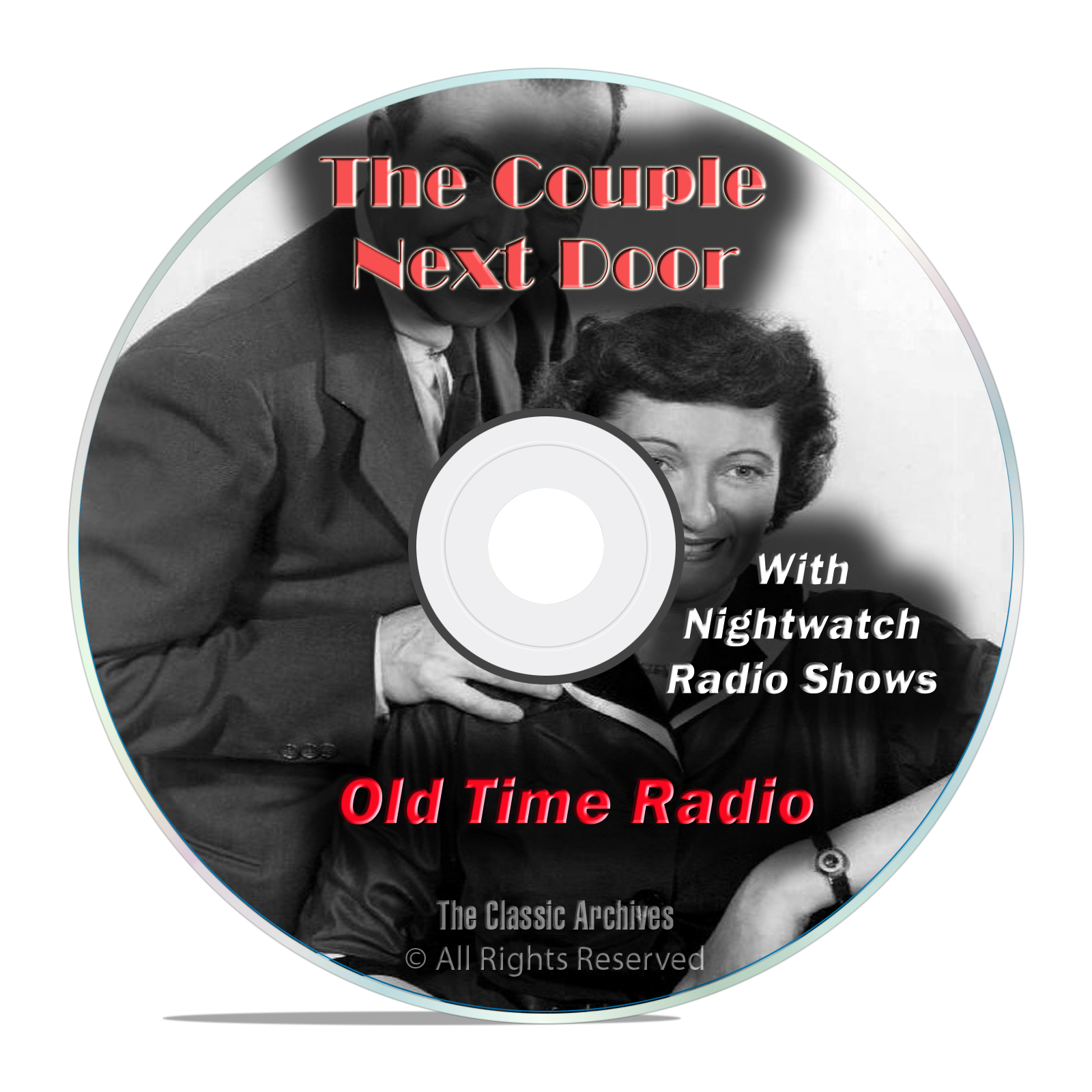 The Couple Next Door, 1,022 Classic Old Time Radio Drama Shows, OTR mp3 DVD