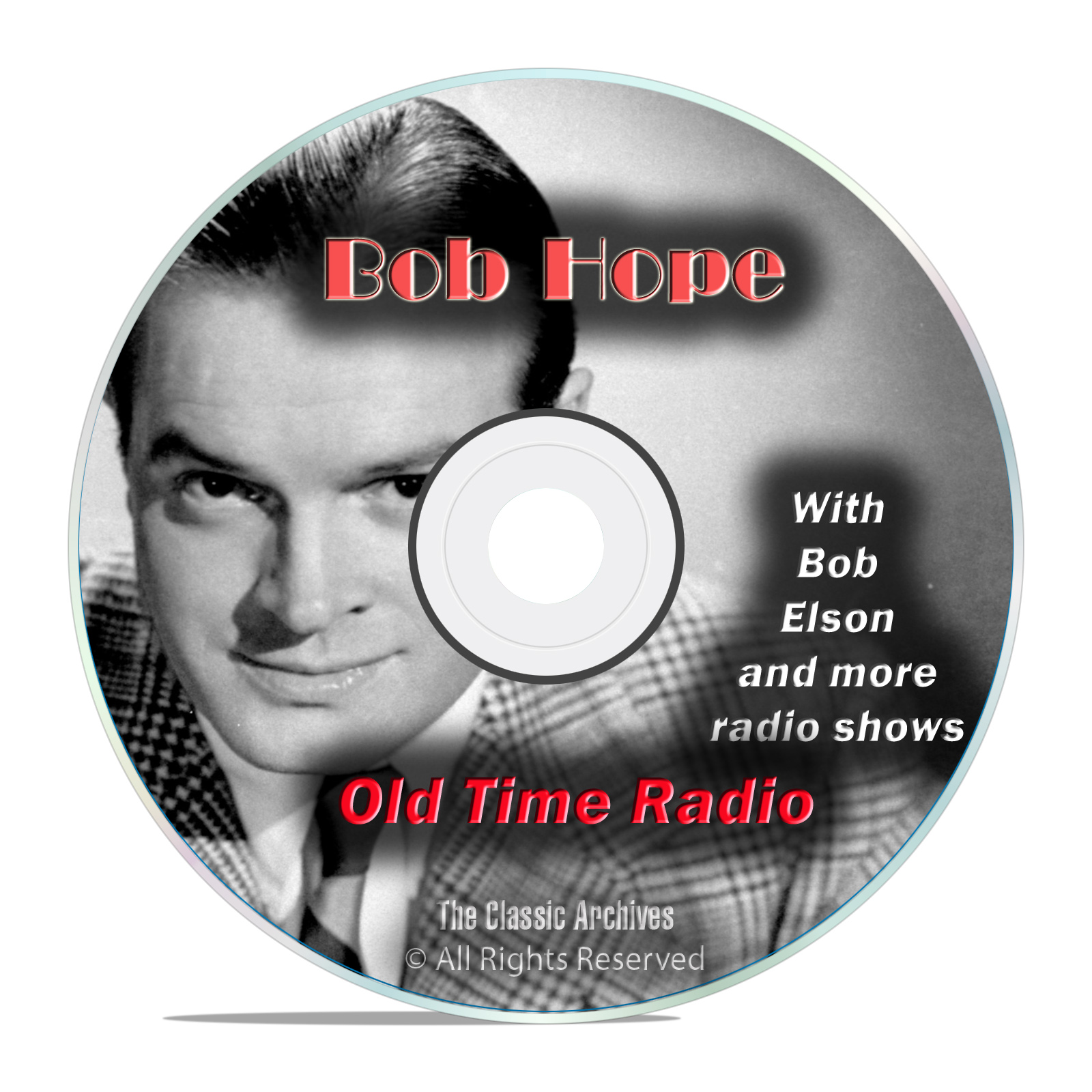 Bob Hope, Comedy, Music and Variety Shows, 849 Old Time Radio Shows, OTR