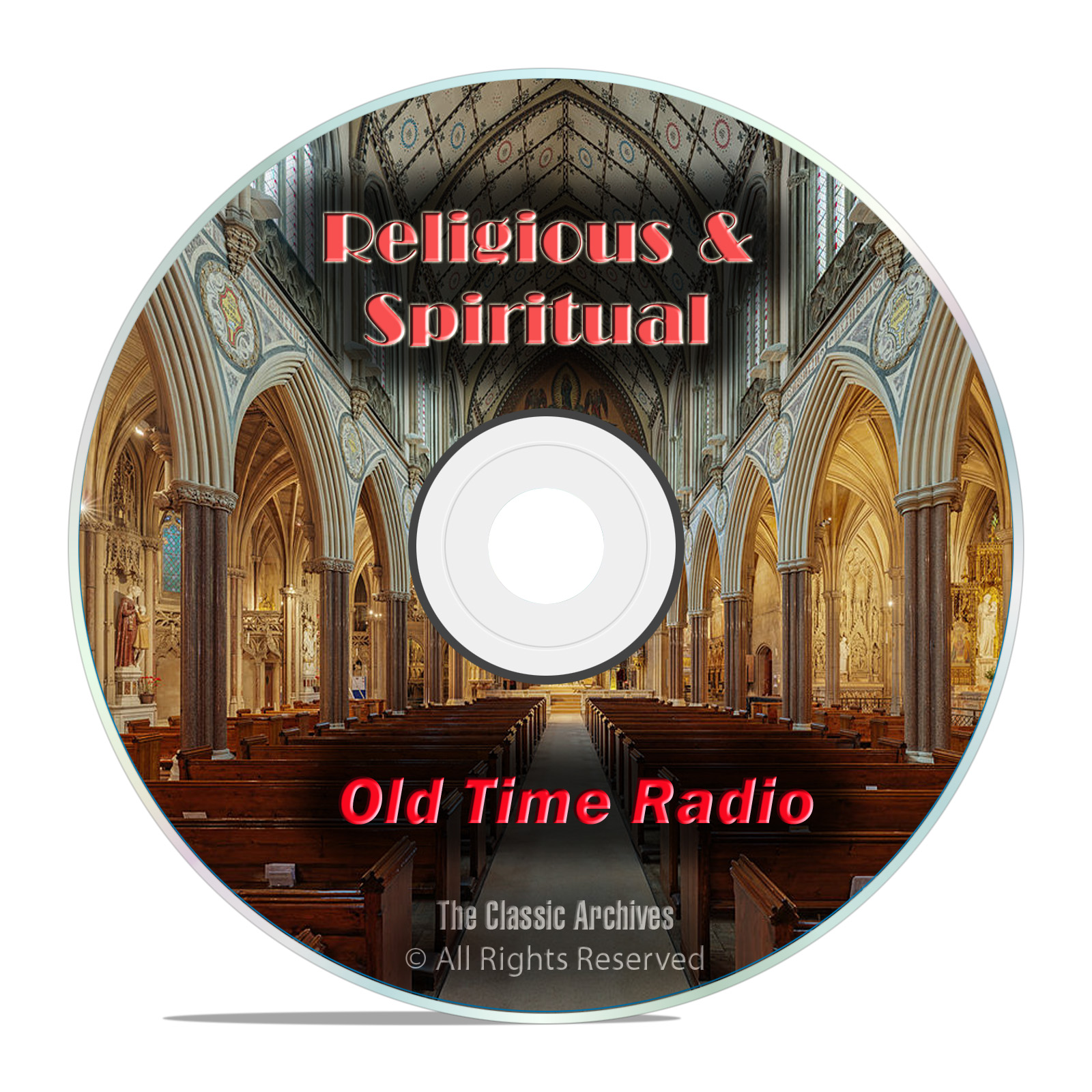 1,260 Religious & Spiritual Old Time Radio Shows Broadcasts Gospel mp3 DVD