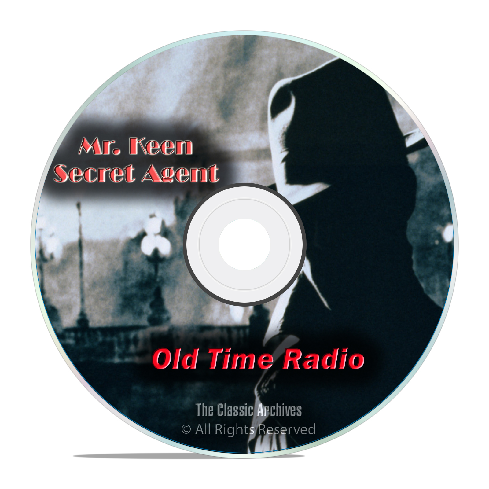 Mr. Keen, Tracer of Lost Persons, 836 Old Time Radio Detective Shows mp3