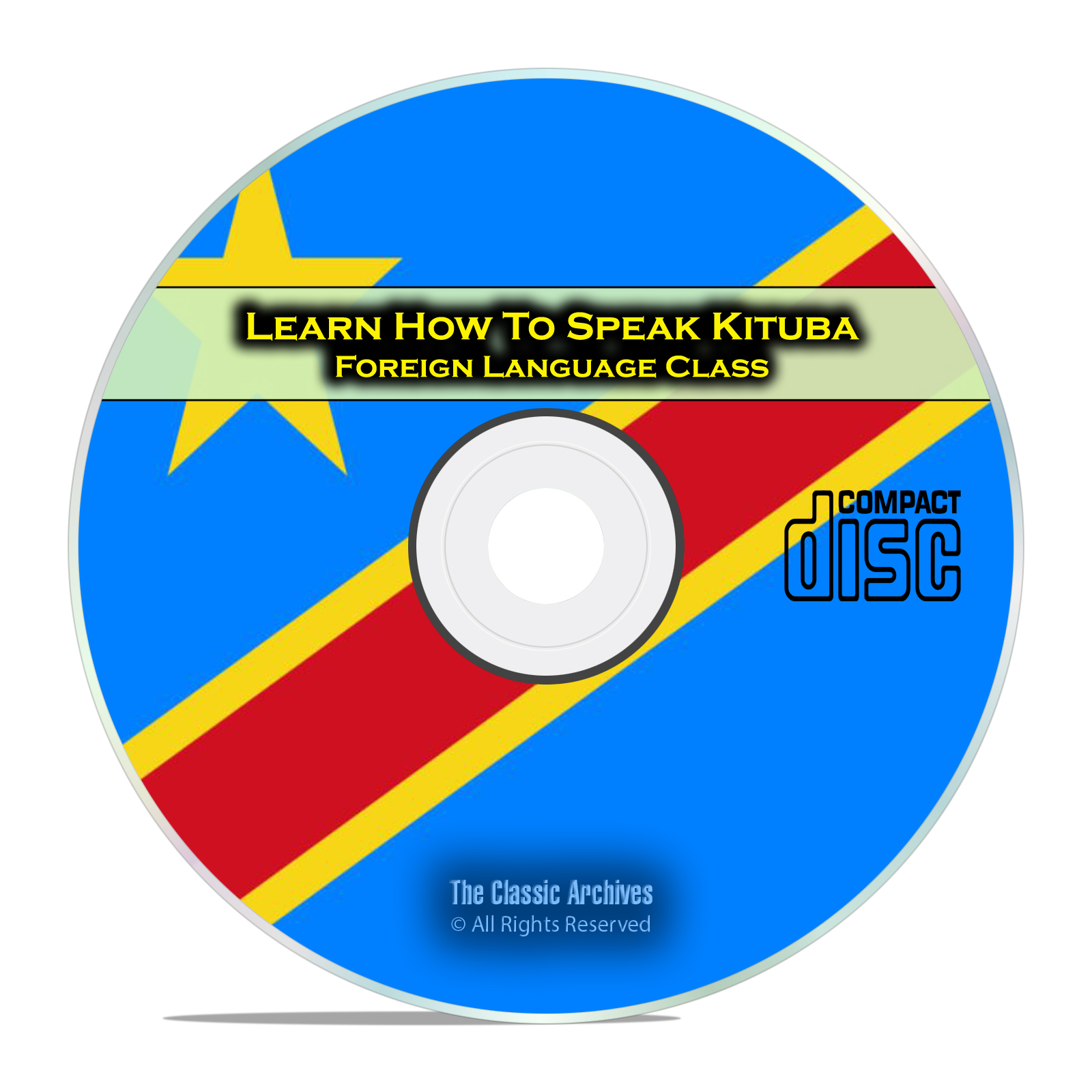 Learn How To Speak Kituba, Fast & Easy Foreign Language Training Course CD