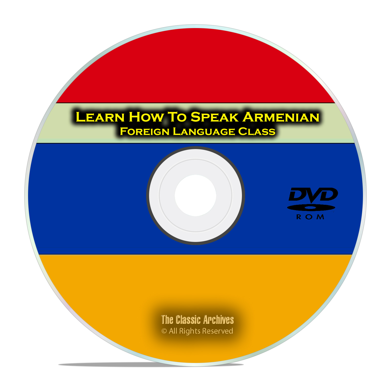 Learn How To Speak Armenian, Fast Easy Foreign Language Training Course DVD