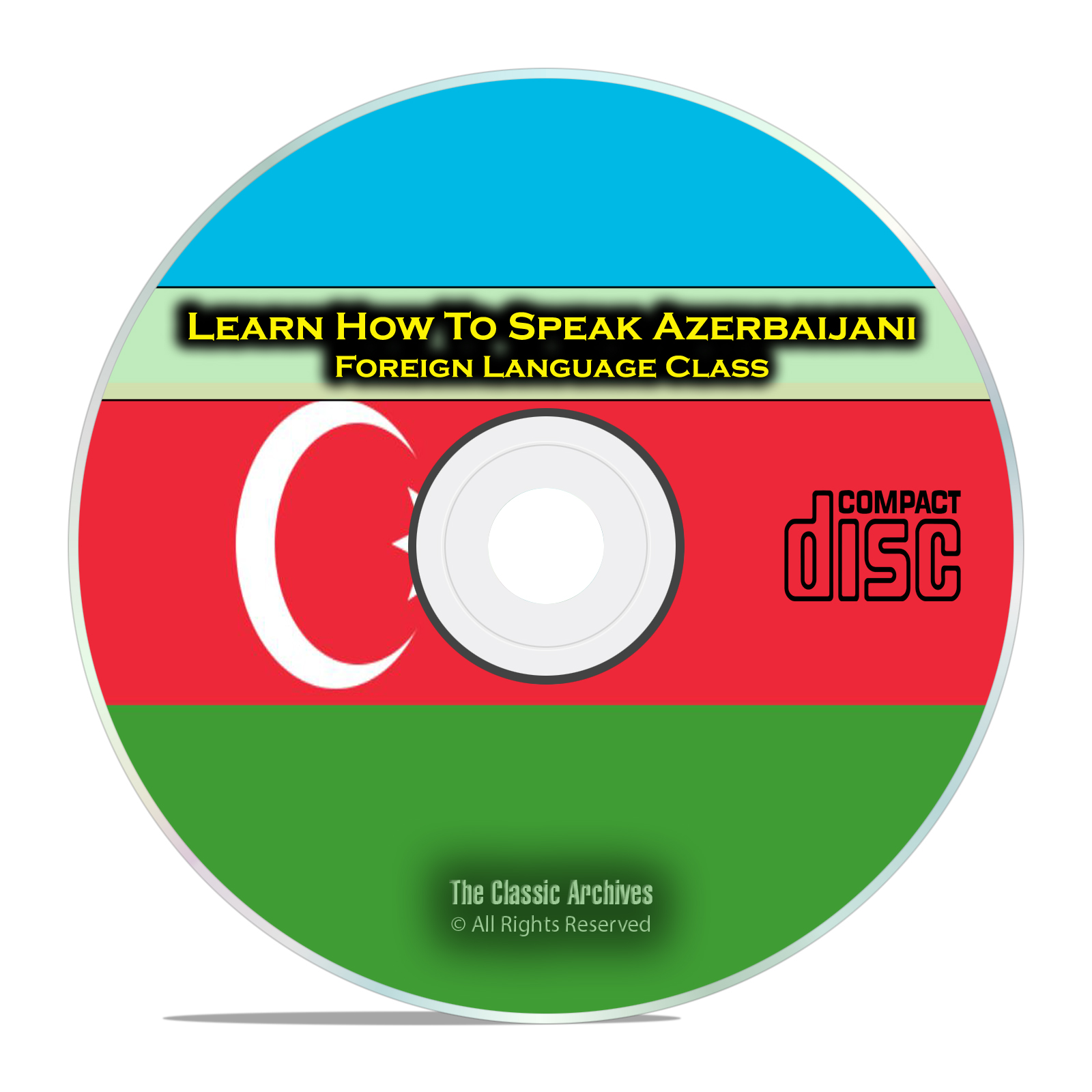 Learn How To Speak Azerbaijani, Fast Foreign Language Training Course CD
