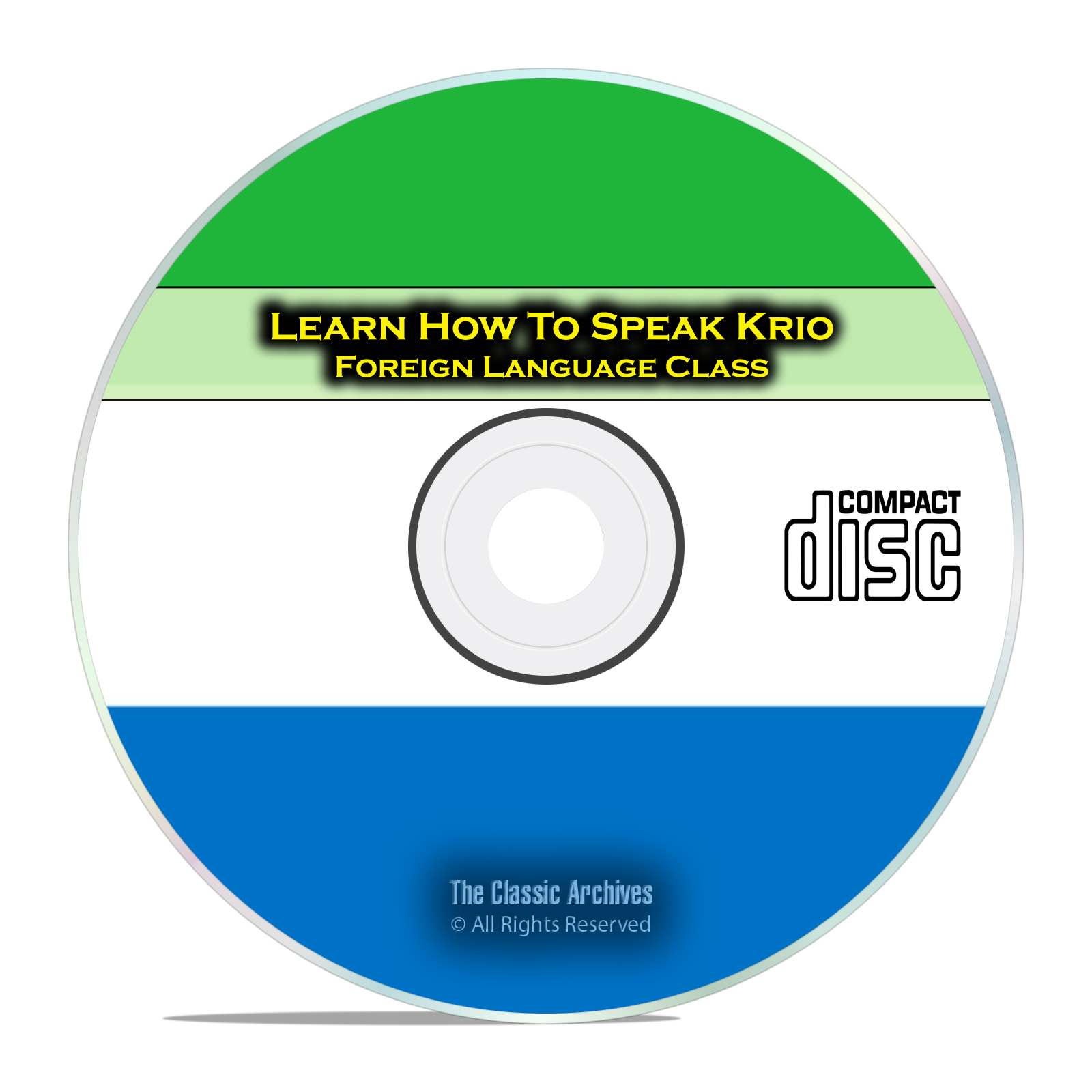 Learn How To Speak Krio, Fast & Easy Foreign Language Training Course CD