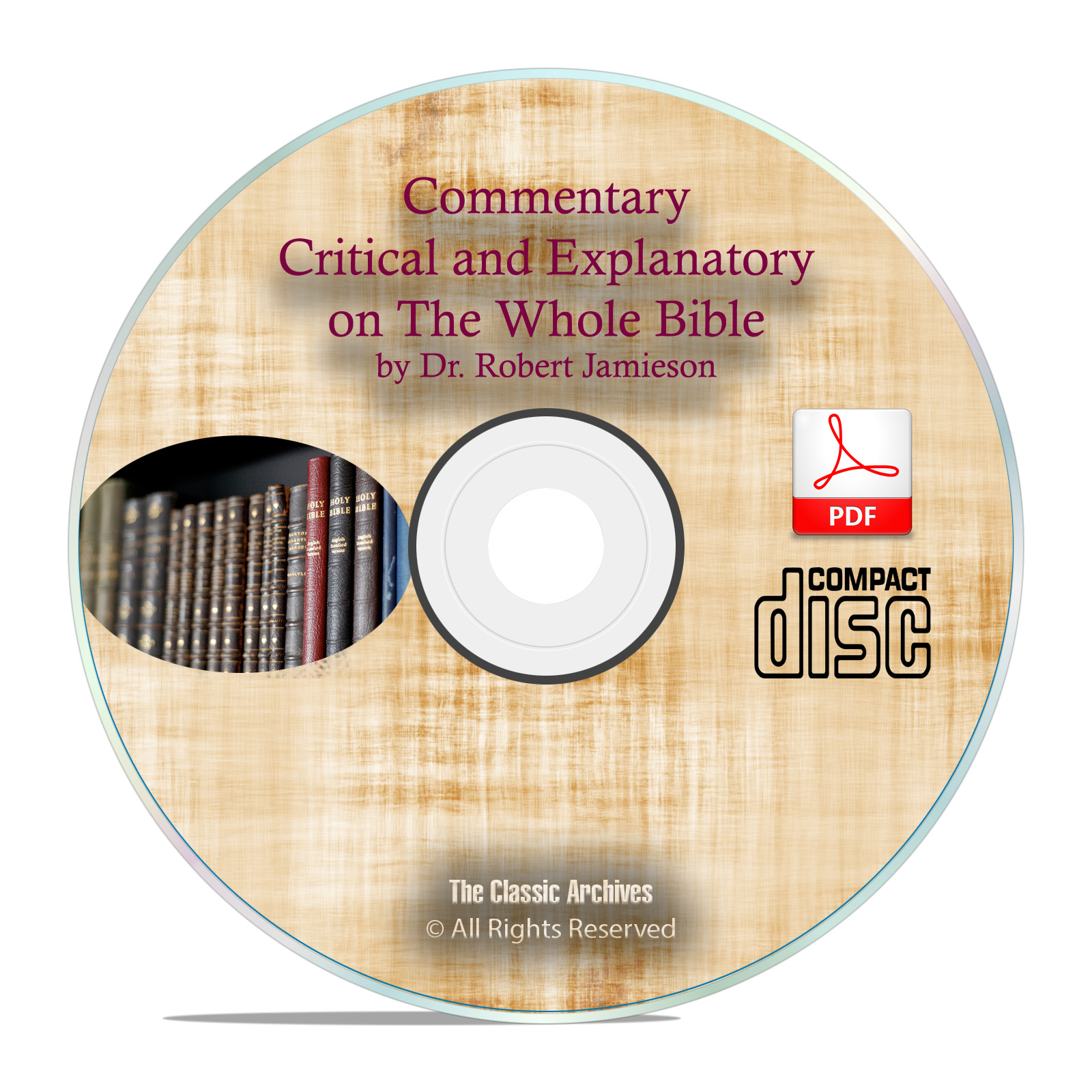 Commentary Critical & Explanatory,Whole Bible Old & New Testaments PDF CD