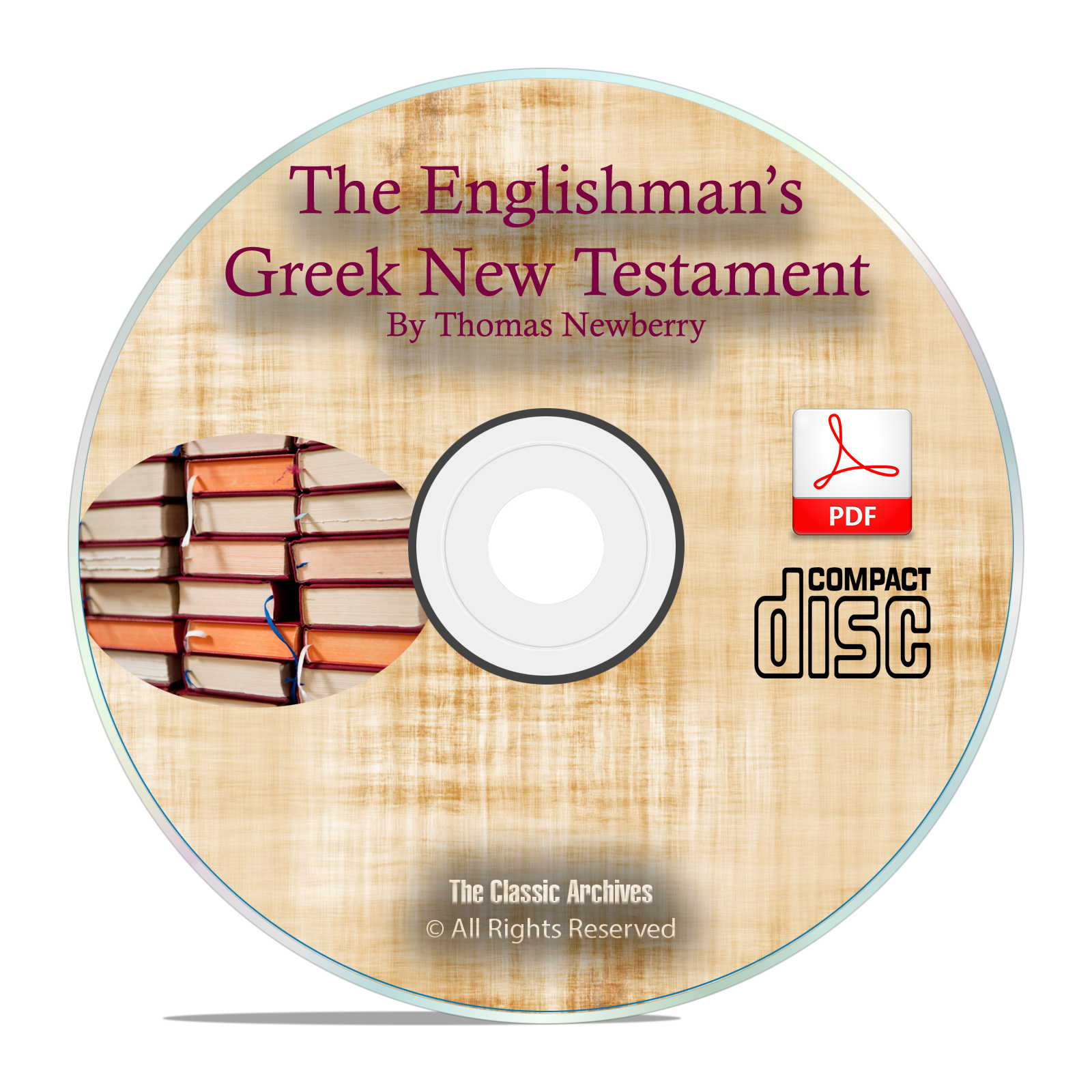 ENGLISHMAN'S GREEK NEW TESTAMENT INTERLINEAR BIBLE, KJV Bible Study PDF CD