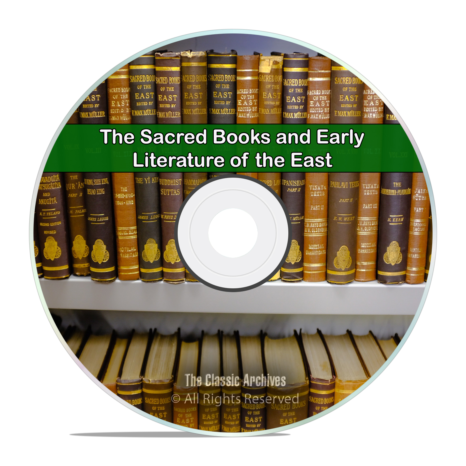 The Sacred Books and Early Literature of the East, All 14 Books on CD