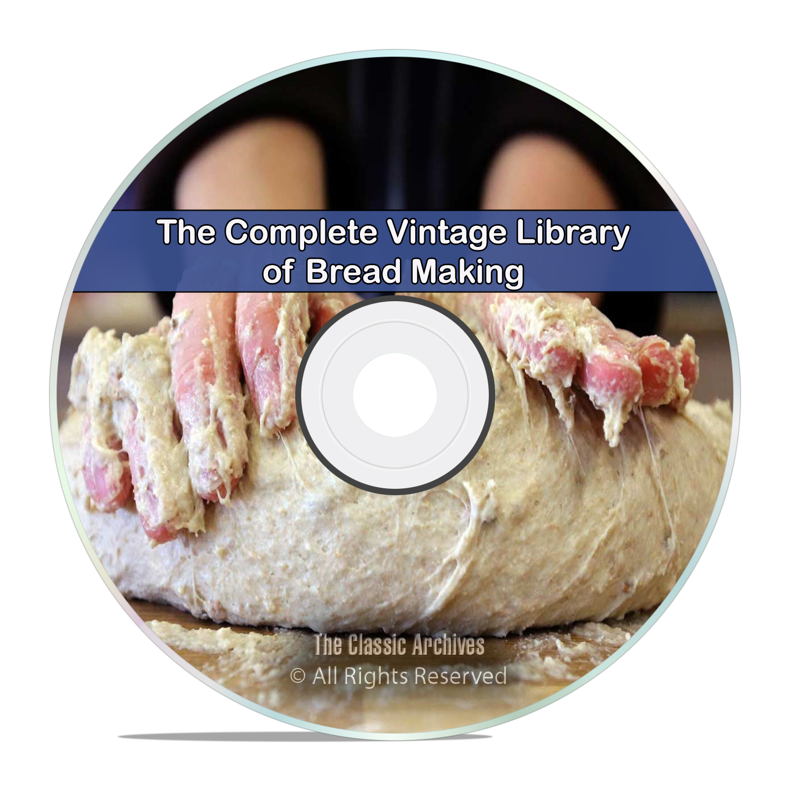 75 Book Library of Bread & Bread Making, Bake Recipes Homestead, PDF CD