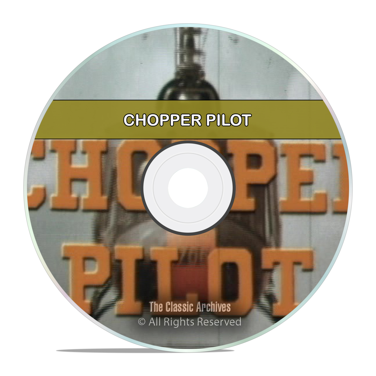 CHOPPER PILOT, Vietnam War Era Helicopter Training Video US Army DVD
