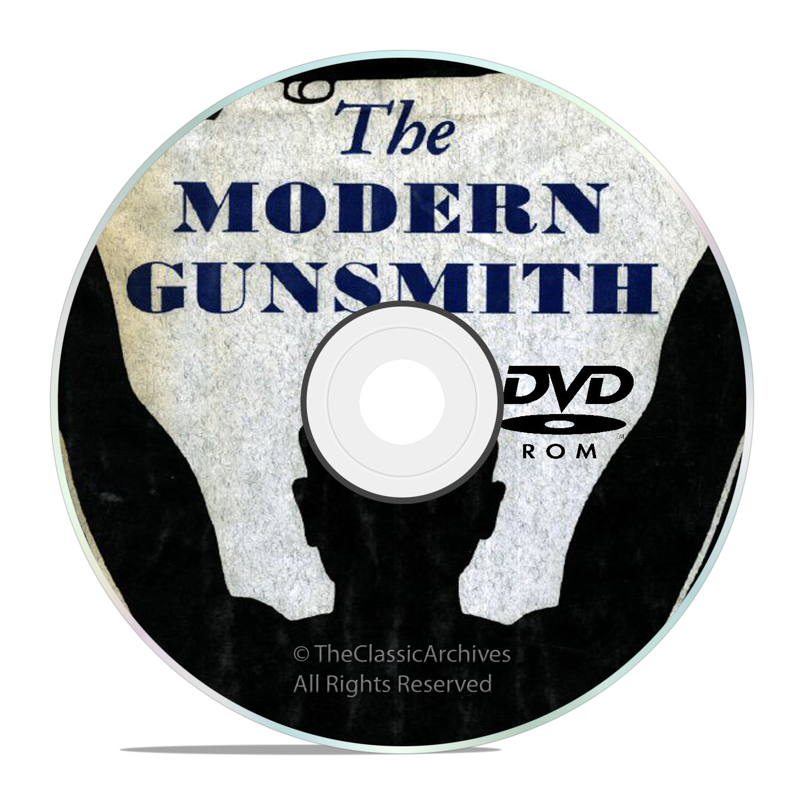 Modern Gunsmith + 74 Classic Gunsmithing Reference Books on DVD-Snail Mail