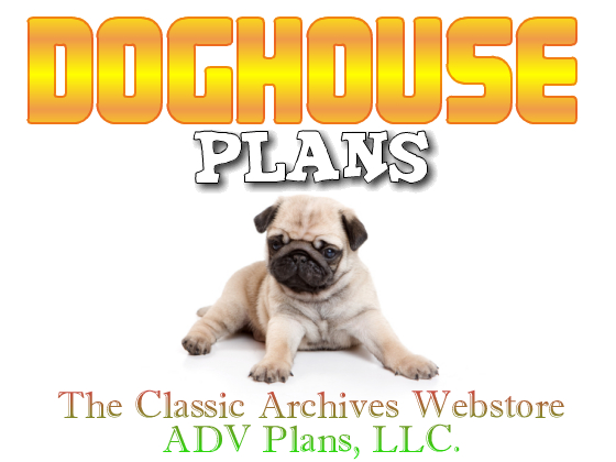 CAD Designed Insulated Dog House Plans, Large breed weatherproof w ...