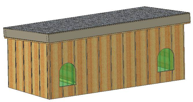 enchanting insulated dog house plans