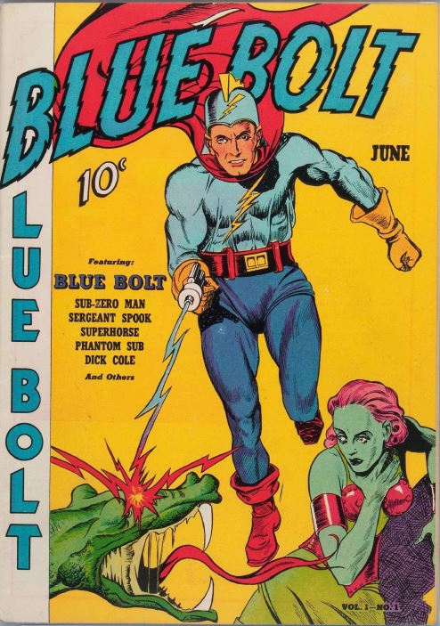 Action Adventure Comics Vol 4, Blue Bolt Picture News 4 ...