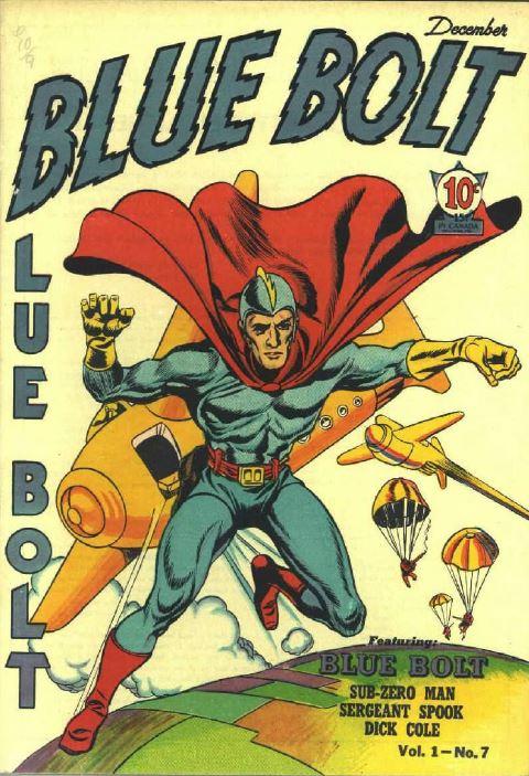 Action Adventure Comics Vol 4, Blue Bolt Picture News 4 ...