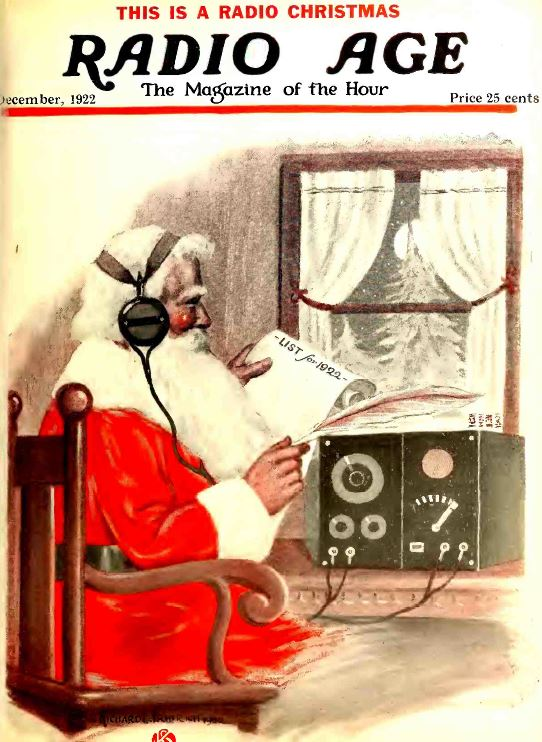 old time radio magazines old time radio magazines - Old Time Radio Christmas