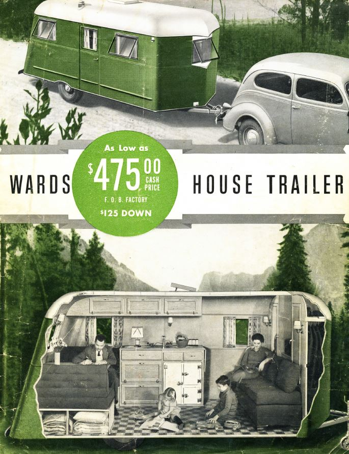 Learn How to Build an Antique Trailer, Camper Plans, Vintage ...
