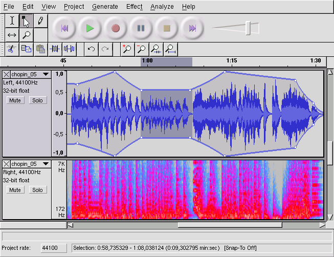 Details about Audacity, Professional Studio Audio Recording, MP3 Music  Editing Software CD F16