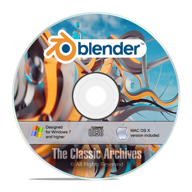 Blender 3d Graphic Design Animation Video Game Creation Software Win Mac F26 741533273287 Ebay
