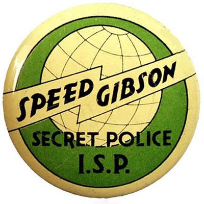 Speed Gibson old time radio
