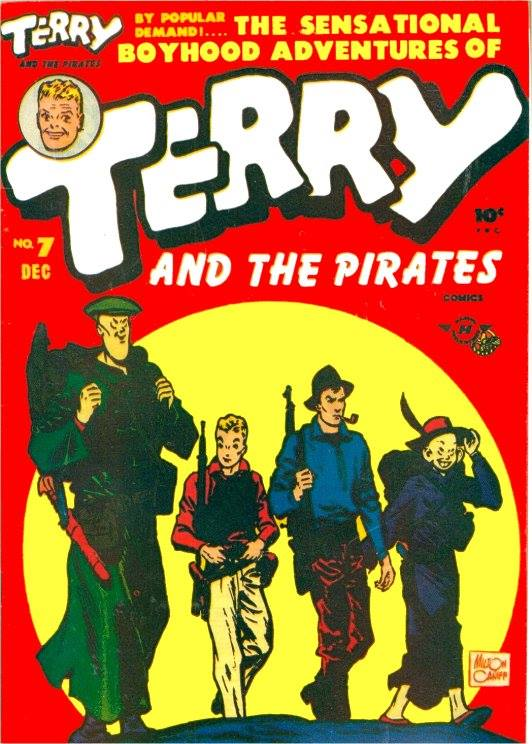 Terry & The Pirates old time radio