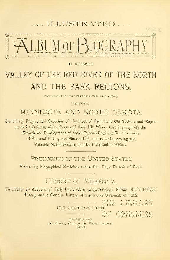 North Dakota Genealogy