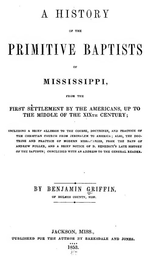 Mississippi Genealogy