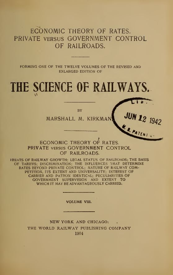 Science of Railways